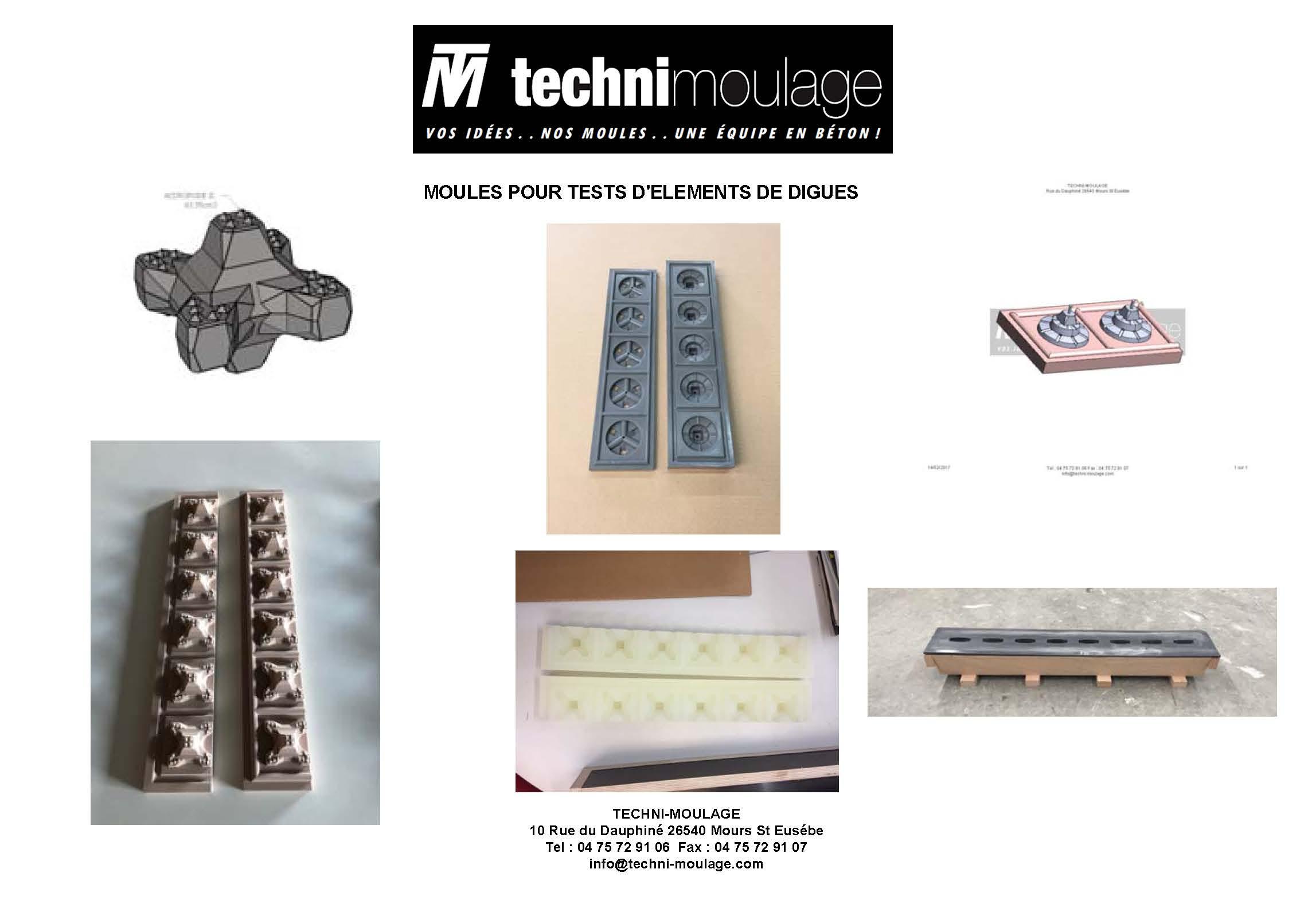 Moule silicone et polyuréthane pour enrobage circuit électronique