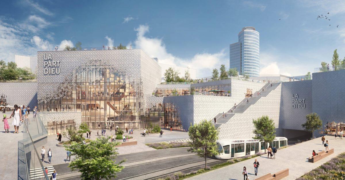Centre commercial La Part-Dieu (LYON)