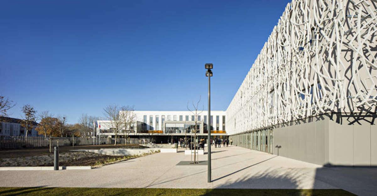 Photo de la réalisation Lycée Henri Matisse